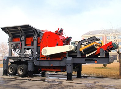 Tyre Mobile Impact Crusher,Wheel-Mounted Mobile Impact