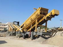 Tyre Mobile Crushing and Screening Station