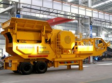 Tyre Mobile Jaw Crusher