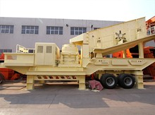 Tyre Mobile Cone Crusher