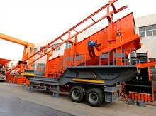 Secondary Tyre Mobile Impact Crusher