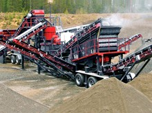 Combined Mobile Crushing Station
