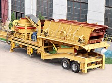 Tyre Mobile Vertical Shaft Impact Crusher